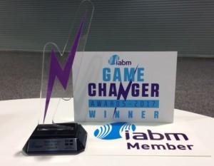 IABM Game Changer Award 2017 Winner
